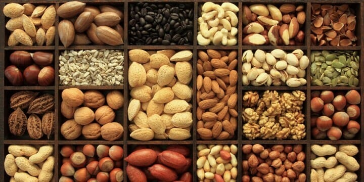 LCHF diet - Nuts and Seeds