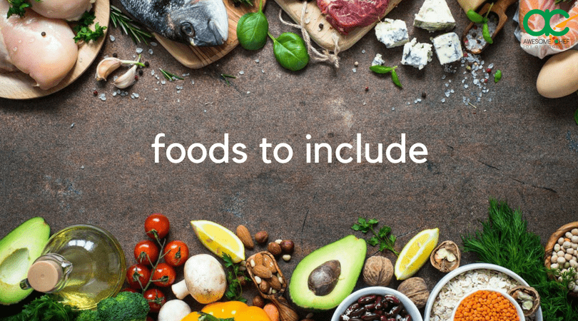 Foods to include in LCHF diet